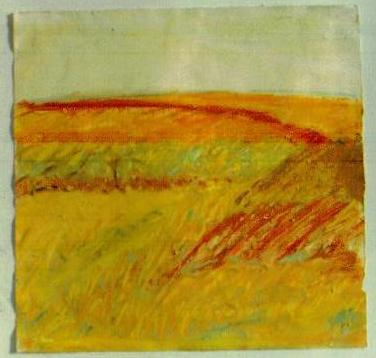 1978 oil pastel field in Mark Four